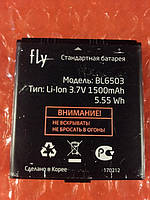 Fly IQ285 BL6503 аккумулятор ОРИГИНАЛ Б/У, фото 1