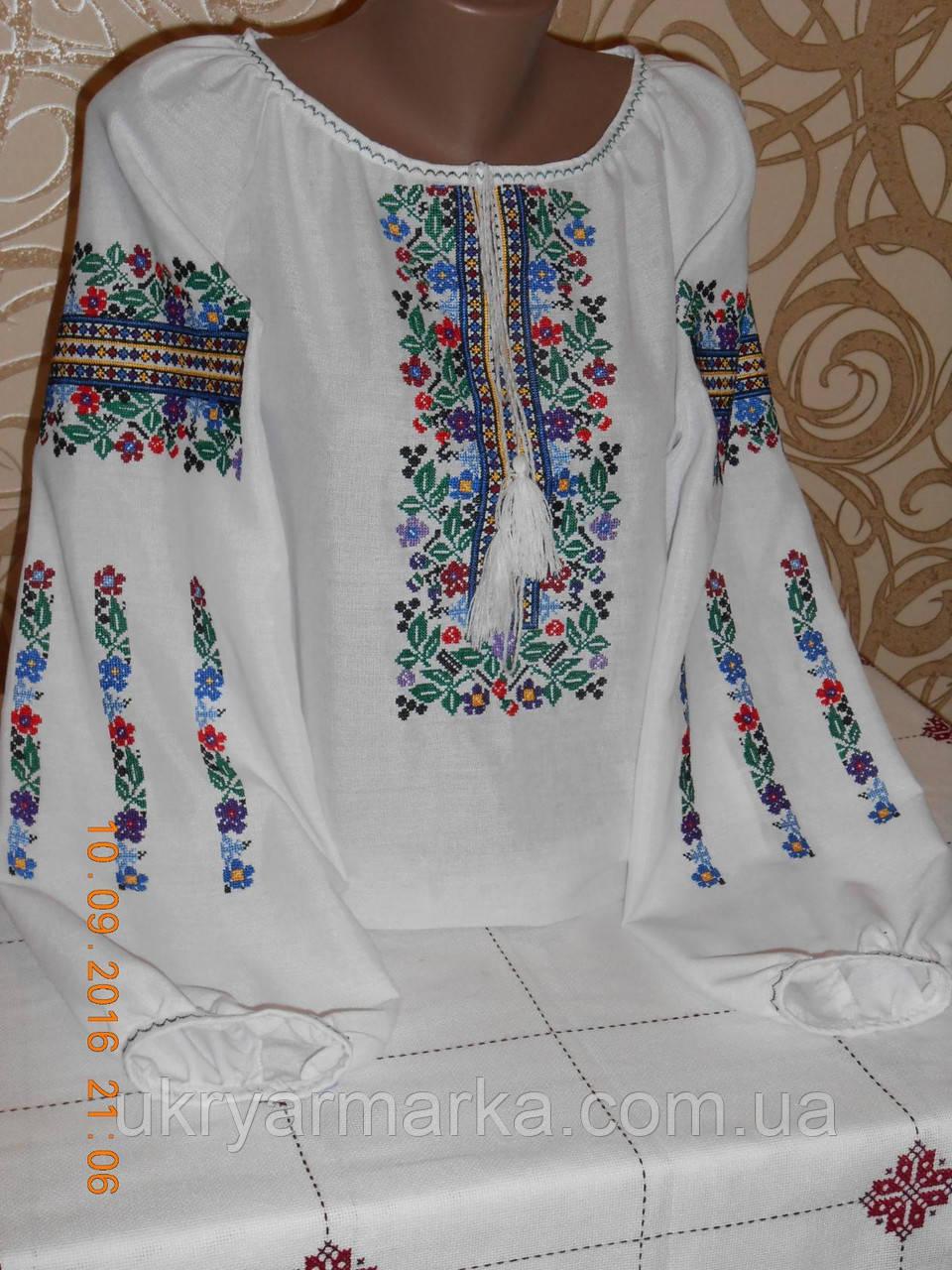 "Жіноча вишивана блуза ""Мальва"""