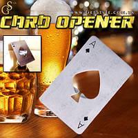 "Открывалка для бутылок - ""Card Opener"", фото 1"