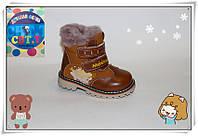 Ботинки детские зимние для мальчиков оптом от фирмы CBT A26-4 (8 пар, 23-28)