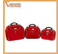 Кейс-набор сумок дорожных RGL (3 в 1) тканевые, разные расцветки, фото 1