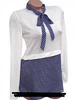 Женская блуза из тонкого трикотажа 42, 44, 46, 48