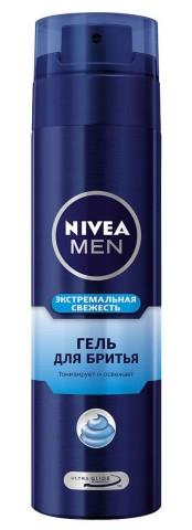 Гель NIVEA д/гоління (81730) Екстремальна свіжість норм.