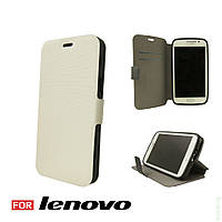 Чехол Book Cover Lenovo A1000 White