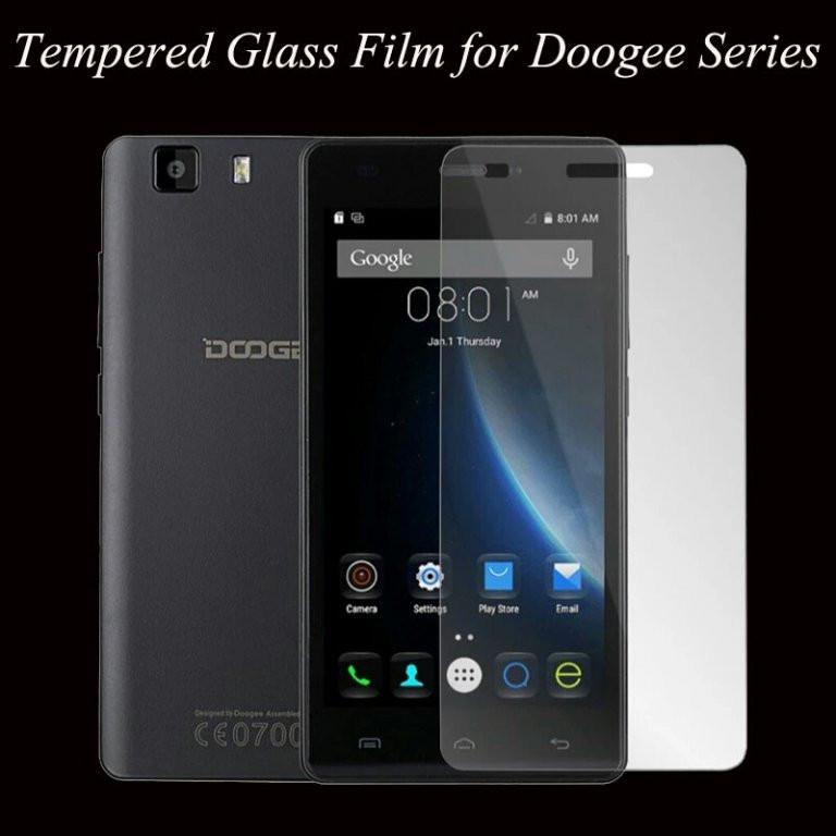 Защитное закаленное стекло для Doogee x5