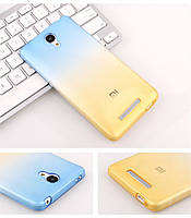Сине-желтый Чехол для Xiaomi Redmi Note 2