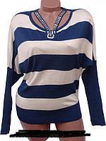 Модный женский пуловер на осень или весну