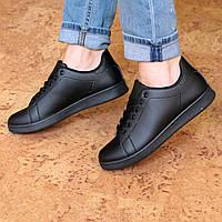 Кроссовки женские Adidas Smith черные, спортивная обувь