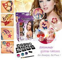 Татуировки для детей Shimmer Glitter Tattoos