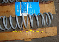 Пружина Ваз 2101-Ваз 2107 задняя,  жёлтая , мягкая(производитель АвтоВаз, Тольятти, Россия)