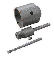 Сверло корончатое для бетона  65 мм 8 зубцов с хвостовиком 22*110 мм SDS-PLUS GRANITE
