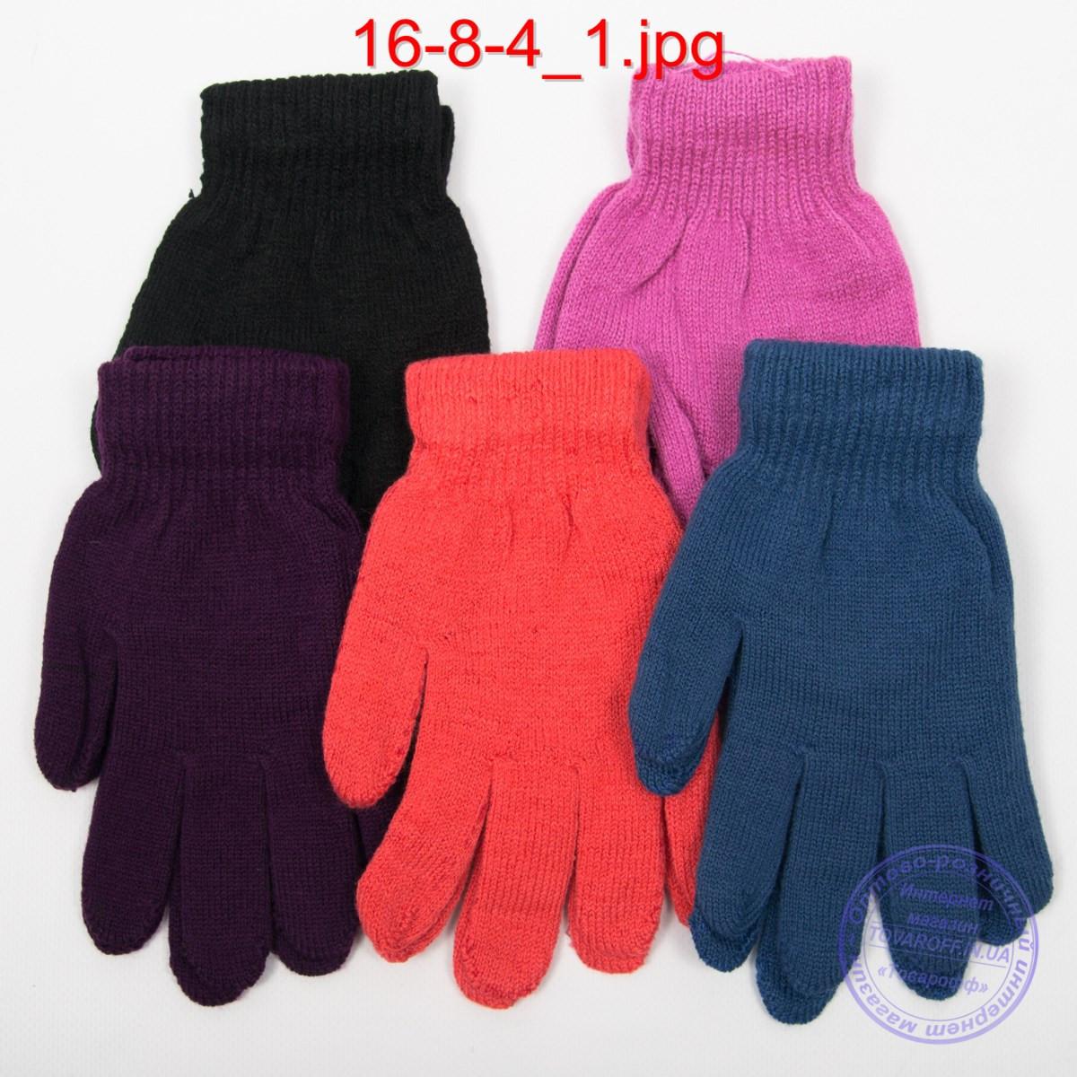 Оптом подростковые перчатки - №16-8-4