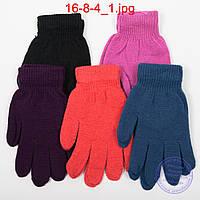 Оптом подростковые перчатки - №16-8-4, фото 1