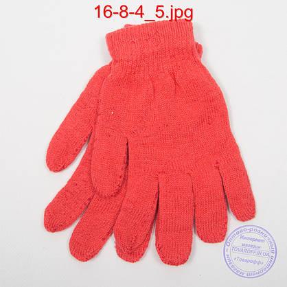 Оптом подростковые перчатки - №16-8-4, фото 3