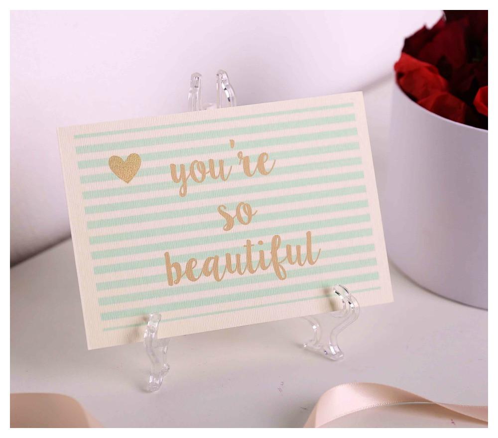 """Листівка """"You are so beautiful"""""""