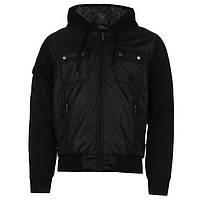 Мужская утепленная куртка Everlast Lined Zip черная
