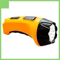 Фонарь TH2293 аккум. (TH93A)DC желтый 4 LED