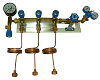 Металлорукав высокого давления для наполнения баллонов, шланг рамповый, змеевик межрамповый
