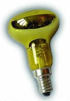 Лампа рефлекторная   R-39 30W желтая