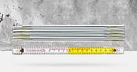 """Деревянный складной метр """"9802"""", 2 метра, BMI"""