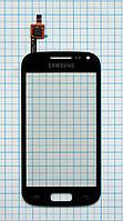 Тачскрин сенсорное стекло для Samsung i8160 Galaxy Ace 2 black