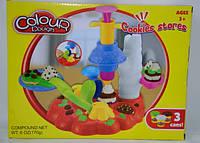"""Пластилин с набором для лепки 6615 """"Фабрика мороженого"""""""