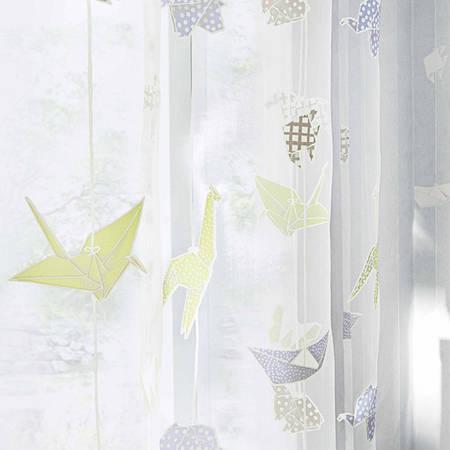 """Тюль для детской комнаты """"Оригами"""""""