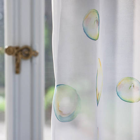 """Тюль в детскую """"Пузыри"""""""