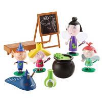 Игровой набор Маленькое королевство Бена и Холли, ШКОЛА ВОЛШЕБСТВА класс 5 фигурок, 30978