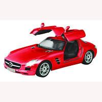 Игрушка автомобиль на Р/У MERCEDES-BENZ-SLS-AMG красный 1:16 Auldey LC258810-2 Поврежденная УПАКОВКА