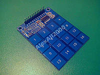 Сенсорная клавиатура TTP229, Arduino