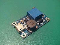 MT3608  повишающий DC/DC c micro USB входом