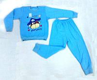 Детская пижама на флисе теплая Пират
