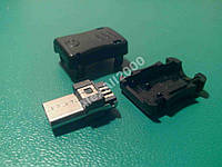 Штекер USB micro микро разъем папа