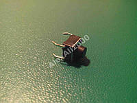 Кнопка тактовая DIP 6х6х6мм 4pin