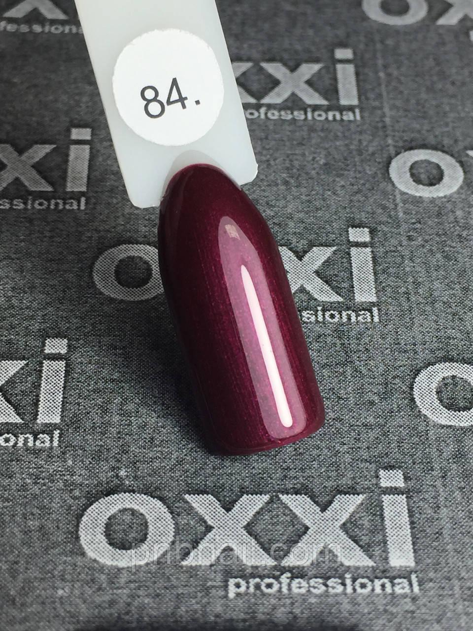 Гель-лак OXXI Professional №084, 8 мл