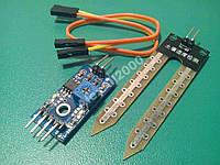 Гігрометр, датчик вологості ґрунту, Arduino