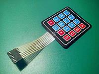 Клавиатура мембранная, 4х4 матрица, Arduino