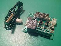 Терморегулятор программируемый w1209 модуль, фото 1