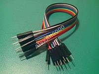 10шт. Dupont Дюпон кабель папа-папа 20см Arduino