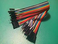 30шт. Dupont Дюпон кабель м-м п-п-м-п 20см Arduino, фото 1