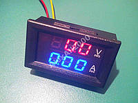 Цифровой вольтметр амперметр 100В 10А шунт