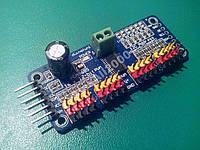 Серво контроллер PCA9685 16 кан 12 бит ШИМ