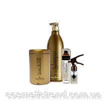 Золотой ботокс для волос Kleral System Gold Filler Collagen Hair Botox (Botul)10ml (поштучно!), фото 3