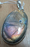 """Овальный кулон с лабрадором """"Пурпур"""" от Студии LadyStyle.Biz"""