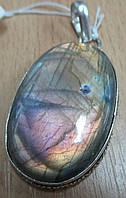 """Овальный кулон с лабрадором """"Пурпур"""" от Студии LadyStyle.Biz, фото 1"""