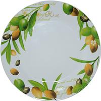 Тарелка 20 см Оливки