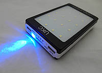 Power Bank  UKC 32000mAh Smart - портативное зарядное устройство, солнечная батарея, фонарь
