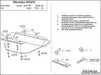 Защита двигателя Mercedes W202 1993-2001