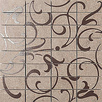 Декор Фьорд табачный светлый мозаичный 300х300 мм (dp168\012)